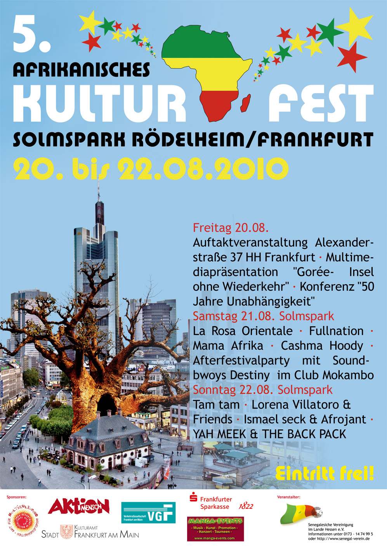 5. Afrikanisches Kulturfest im Rödelheimer Solmspark