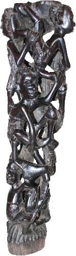 Makonde-Lebensbaum