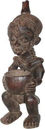 afrikanische Chokwe Figur