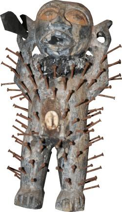 Nagelfetisch Fetischfigur der Bakongo