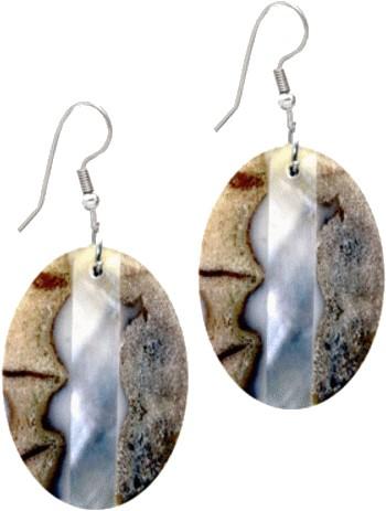 Produkttester für Ohrringe, Ohrhänger, Ohrring Koralle mit Perlmutt oval gesucht