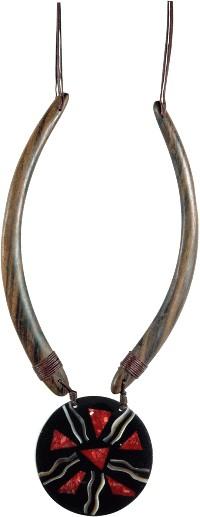Kette, Halskette, Modeschmuck Ketten aus Naturmaterialien