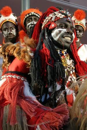 SHOWGRUPPE AFRIKA TRIBA