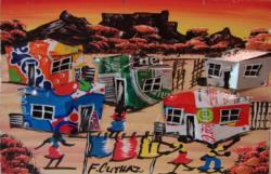 Bilder und Kunst aus den Townships Südafrikas