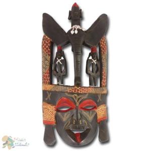 Holzmaske der Massai zu gewinnen
