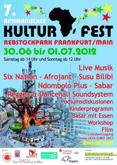 Afrikanisches Kulturfest vom 30.06. bis 01.07.2012